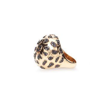 anel-glam-leopard-ouro-amarelo-diamante-negro