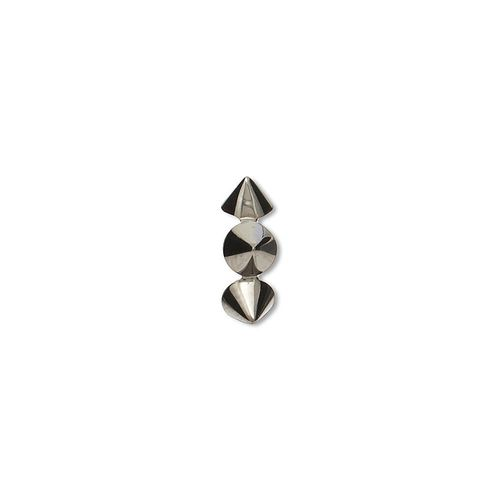 piercing-spike-pressao-ouro-branco-rodio-negro