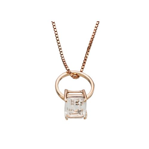 pingente-mini-anel-ouro-rosa-topazio-incolor