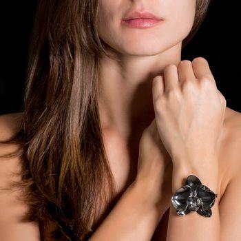 pulseira-orquidea-prata-rodio-negro-diamante-modelo