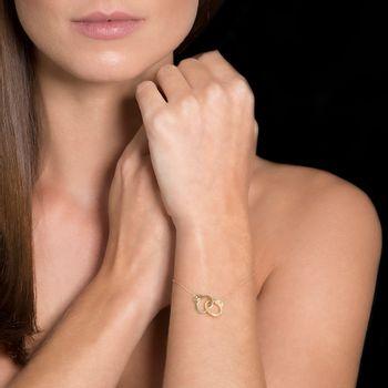 pulseira-algeminha-ouro-amarelo-modelo