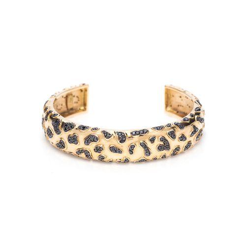 pulseira-glam-leopard-ouro-amarelo-rodio-negro-diamantes-negros