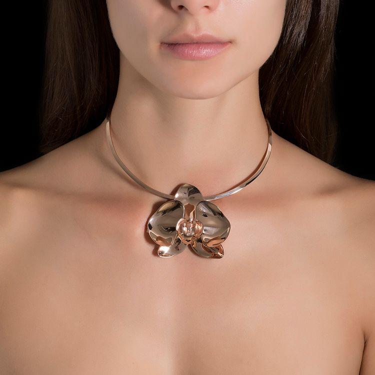 colar-orquidea-prata-ouro-rosa-diamante