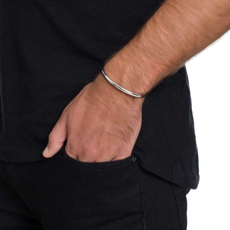 bracelete-just-a-tube-fosco-prata-com-banho-de-rodio-branco-modelo