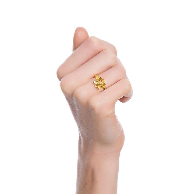 anel-blossom-mini-prata-com-banho-de-ouro-amarelo-18k-e-safira-amarela-modelo