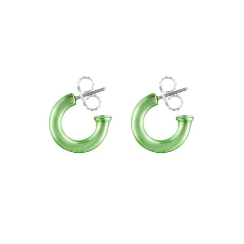 argola-pop-chain-mini-prata-com-green-lacquer-still