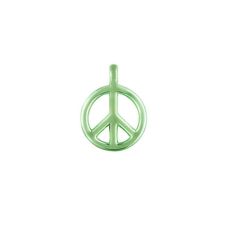 pingente-peace-and-love-p-prata-com-green-lacquer-still