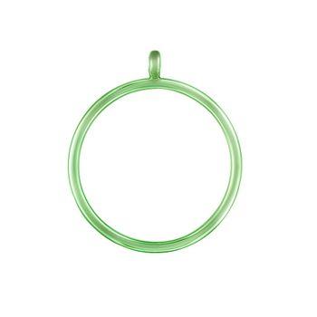 pingente-argola-pop-chain-prata-com-green-lacquer-still