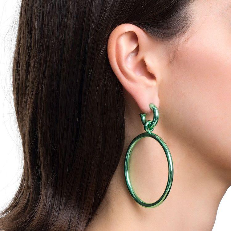 pingente-argola-pop-chain-prata-com-green-lacquer-modelo