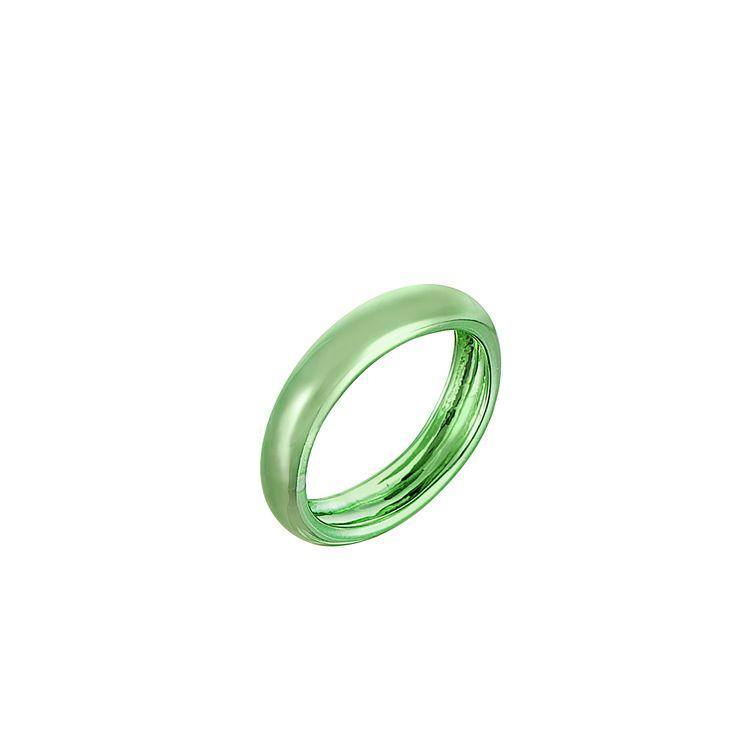 anel-tubo-prata-com-green-lacquer-still