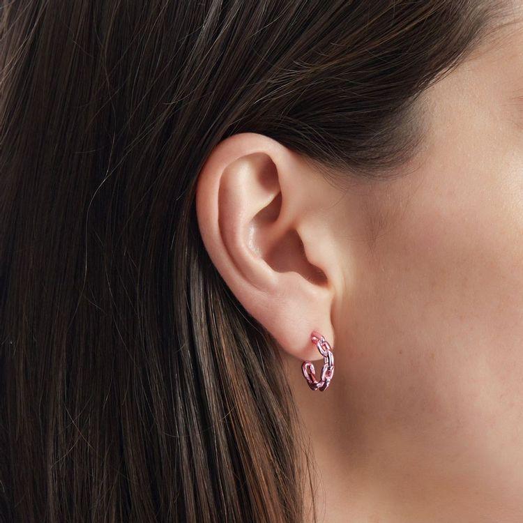 argola-mini-pink-chain-br05903t-modelo
