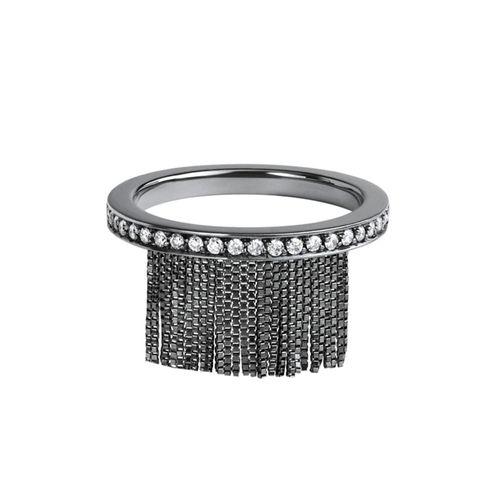 Anel Love Ny Franja Diamantes - 15