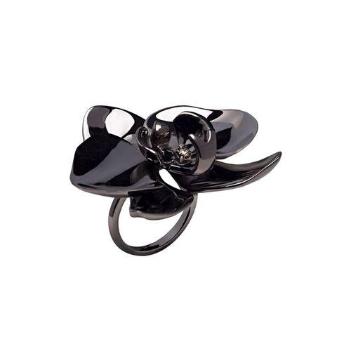 Anel Orquídea Negra - 14