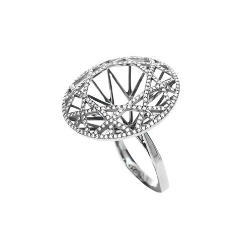 Anel Redondo Diamante - 16