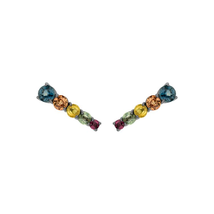 Large-Rock-Star-Comet-Earring-in-18k-white-gold-with-black-rhodium-and-548ct-multicolored-sapphires.