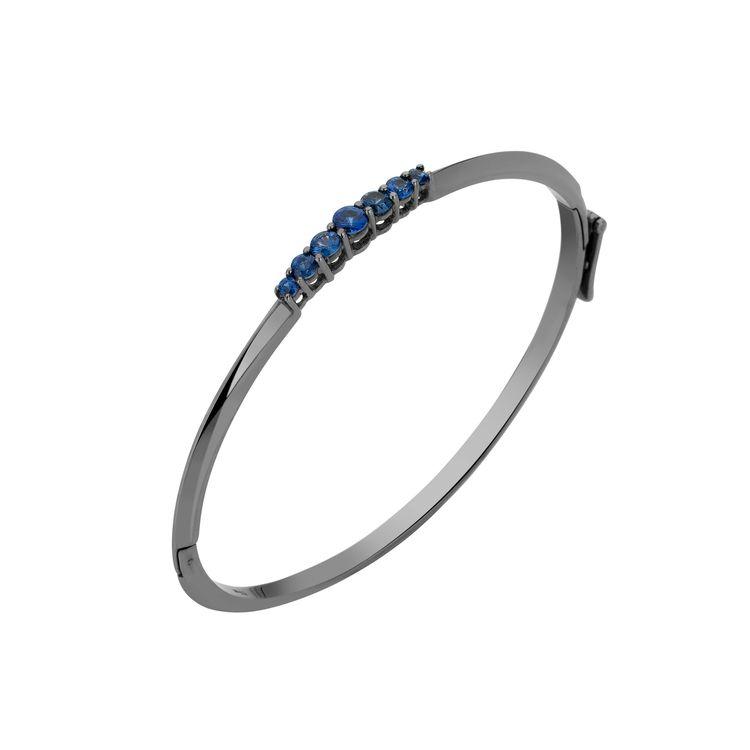Pulseira-Rock-Star-em-ouro-branco-18k-com-banho-de-rodio-negro-e-safiras-azuis-±086ct.