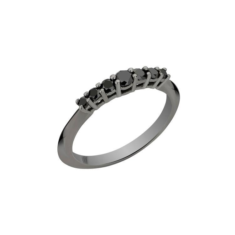 Anel-Rock-Star-Mini-em-ouro-branco-18k-com-banho-de-rodio-negro-e-diamantes-negro-±034.